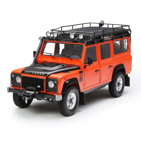 世纪龙 1:18 Land Rover Defender 110 橙色