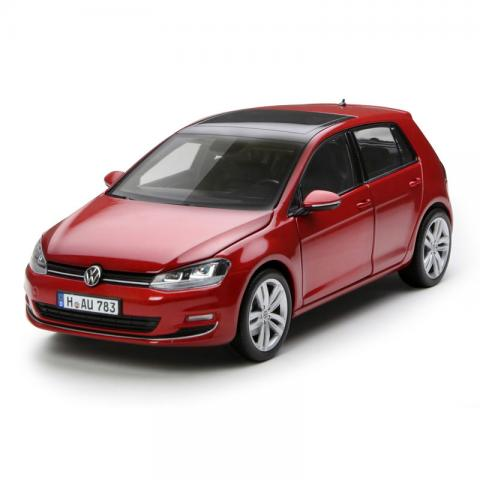 NOREV 1:18 大众 VW Golf 2014 Red metallic